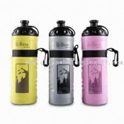 PE Sports Water Bottle with 750ml Capacity images