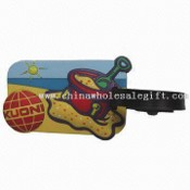 Soft PVC Luggage Strap in 3D Design images