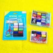 Travel Sewing Kits Available in Card or Plastic Case Packaging images