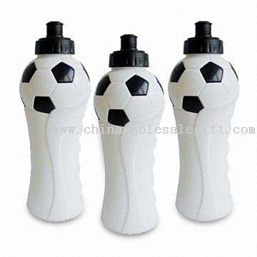 PE Sports Water Bottle with Silkscreen Printing