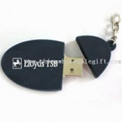 PVC USB Flash Drive with Embossed 3D Logo images