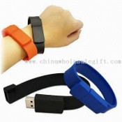 Wristband-shaped USB Flash Drive with Capacity of 1GB images