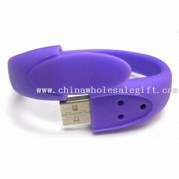 Multifunction Silicone Gel Wristband USB Flash Drive