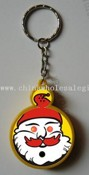 Santa Claus Pre-recorded Sound Led Keychain images