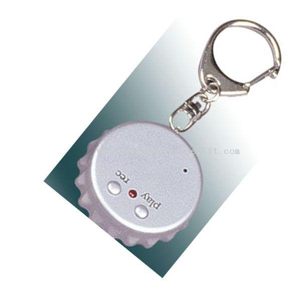 Recording Sound Keychain