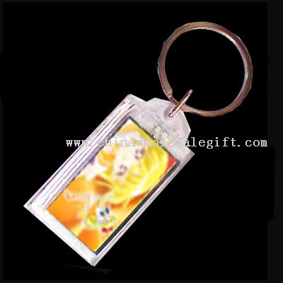 Ultrasonic Power Solar LCD Keychain