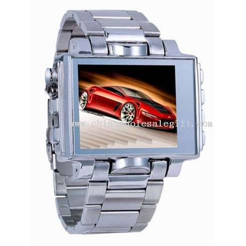 1.8-inch Steel MP4 Watch