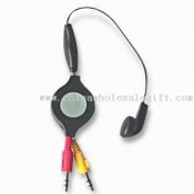 Retractable Computer Headset for Internet Communication images