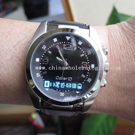 Vibrating Bluetooth Watch With OLED display