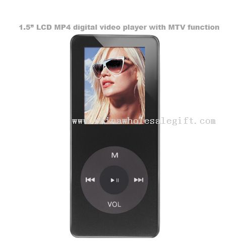 """1.5"""" LCD MP4 digital video player with MTV function"""