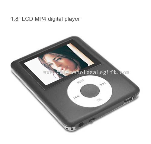 "1.8"" LCD MP4 digital video player"
