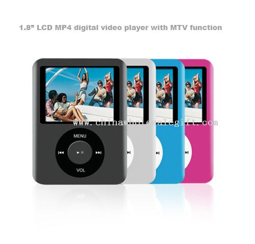 """1.8"""" LCD MP4 digital video player with MTV function"""