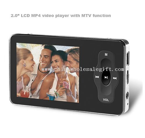 """2.0"""" LCD MP4 video player with MTV function"""