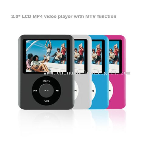 "2.0"" LCD MP4 video player with MTV function"