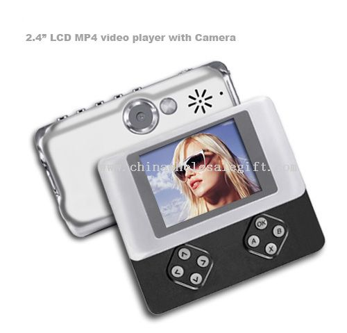 """2.4"""" LCD MP4 video player with Camera"""