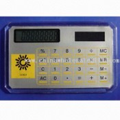 Solar Power Eight Digits Calculator with Memory Calculation images