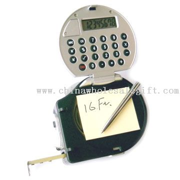 Multi-functional Calculator With Tape Measure
