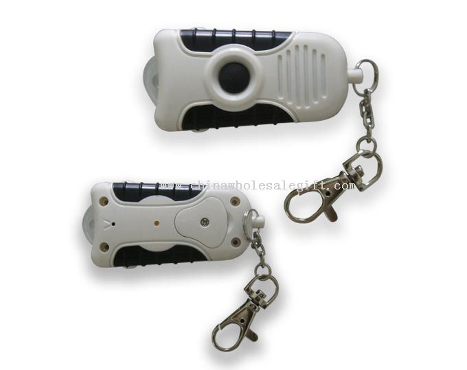 Whistle Key Finder with Recorder and Flashlight