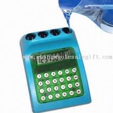 Compact and Lightweight 8-digit Display Water-powered Calculator images