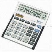 12-digit Office Calculator with Mark Up Function images