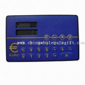 Eight Digits Card Size Two Line Display Euro Converter images