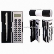 Magic Box Eight Digits Calculator with Ball Pen images