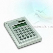 Mini Calculator with Integrated Notepad and Eight Digits images