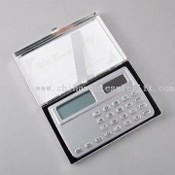 Name Card Case with Pocket Calculator images
