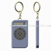 Promotional 8-digit Calculator with Keychain and Cover images