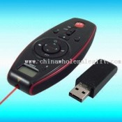 2.4GHz USB Wireless Laser Pointer with PowerPoint Presenter and Multimedia Controller images