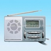 AM/FM 4-Band PLL Radio with Alarm and Clock Function images