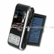 Solar MP4 Media Player or Flash Portable Media Player with TFT Display and FM Radio images