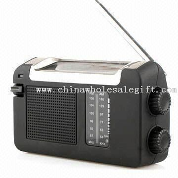 Solar and Hand Powered Radio with FM/AM Function