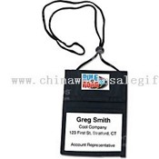 Tradeshow Vylon Badge Holder images