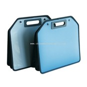 TWIN COLOR HANDLE DOCUMENT BAG images