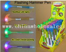 Flash Knock Hammer Ball Pen