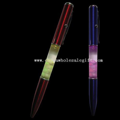 Flash Liquid Ball Pen
