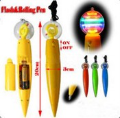 Flash Spinning Ball Pen images