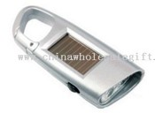 2 white LED Solar Flashlight images