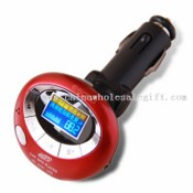 Bluetooth Car Kit FM Transmitter with Memory images