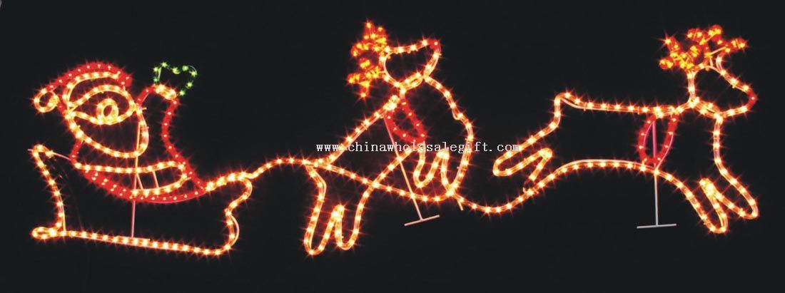Rope Light Christmas Decoration
