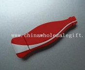 Silicone  Coca Cola Bottle USB Flash Drive images