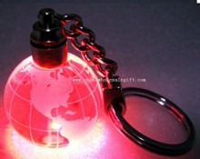 crystal globe keychain images