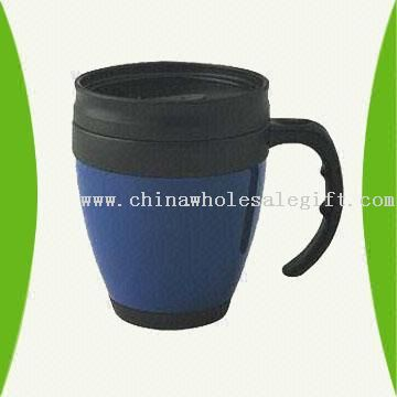 16-Ounce Plastic Mug Available in Different Colors