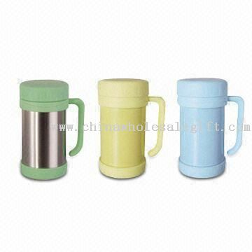 18-ounce Vacuum Desk Mugs