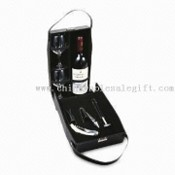 Imitation Leather Wine Box with Bar Accessories images