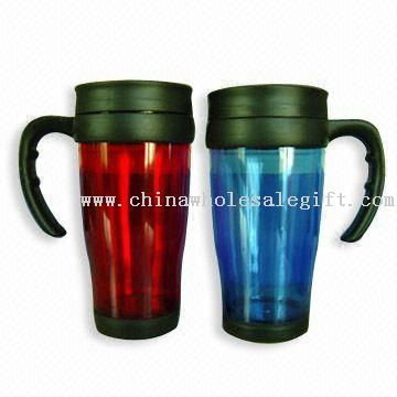 Plastic Mugs with Capacity of 16 Ounces
