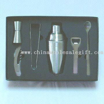 Stainless Steel Bar Accessory Set