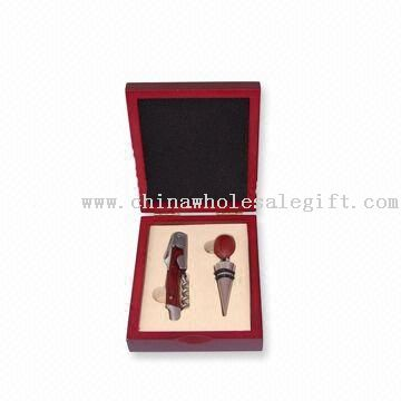 2-piece Wine Set with Zinc-alloy Stopper and Waiters Knife