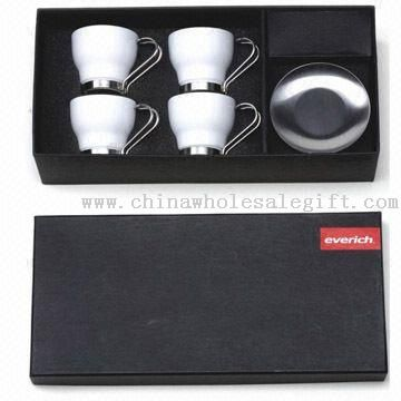 Four-piece Ceramic Mug Set